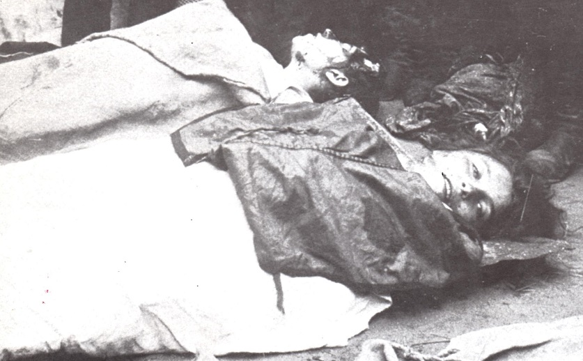 Victims of Bialystok pogrom - October 1905