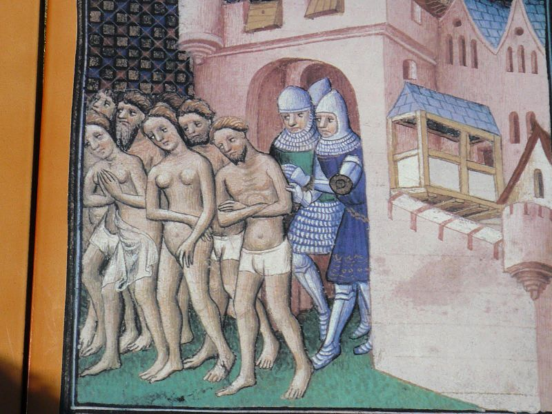 The cathars are expelled from Carcassonne