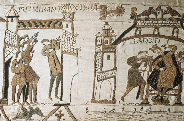 The conquest of England in 1066