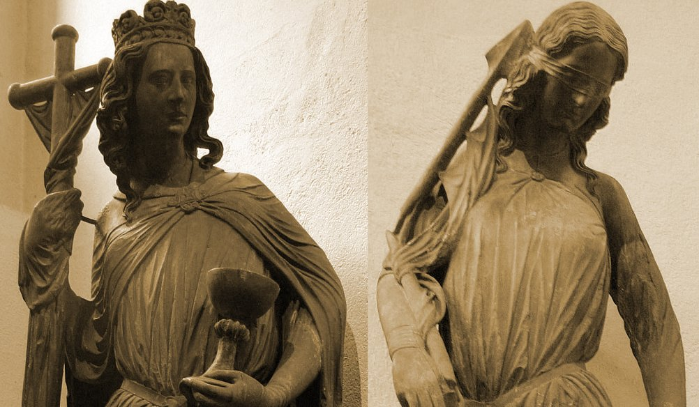 Ecclesia and Synagoga (Cathedral of Strasbourg)