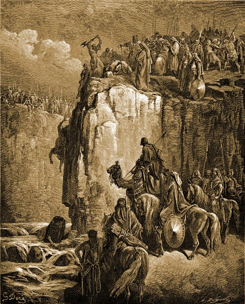 Prophet Elijah and the prophets of Baal