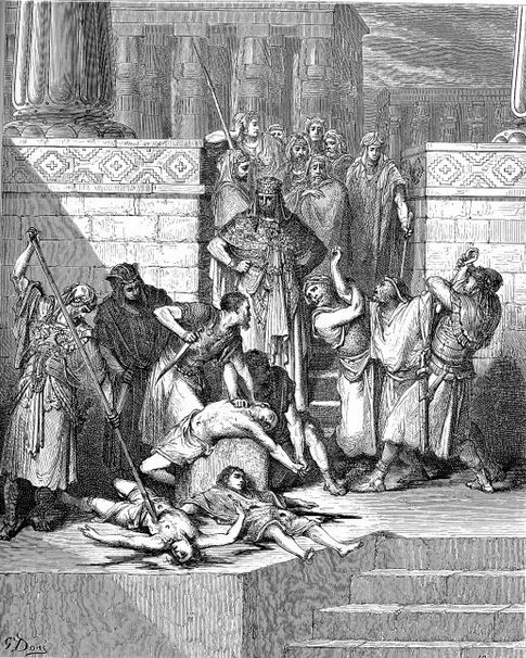 Execution of Zedekiah's sons