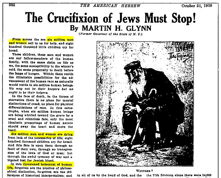 """The Crucifixion of Jews Must Stop!"""
