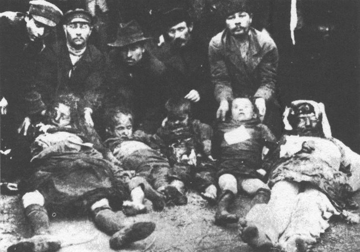 Victims of the Kishinev Pogrom (1903)