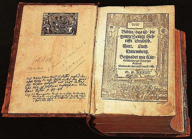 Luther Bible in German