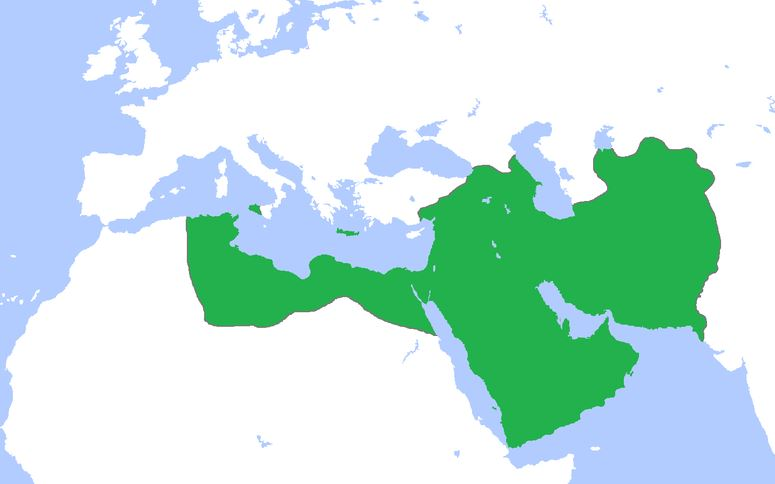 The Abbasid Caliphate in 850 CE
