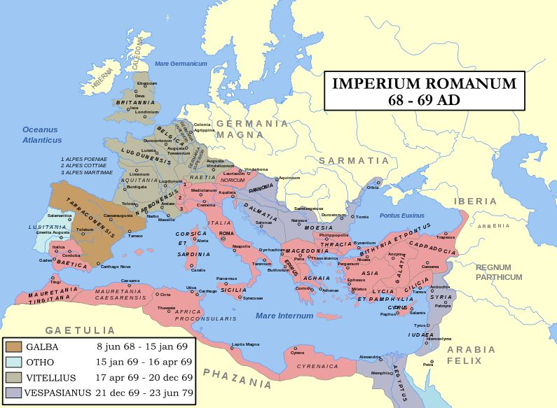 The Roman empire of the four emperors