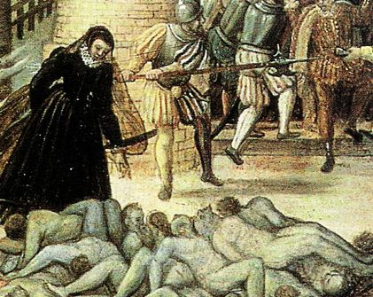 Massacre of the St Barthelemy in Paris