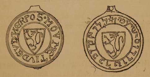 Seal of the nassi of Narbonne