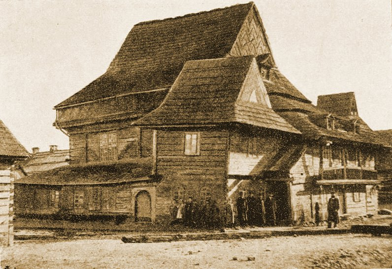 The wooden synagogue of Zabludow