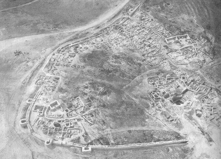 The Canaanite city of Tel Arad