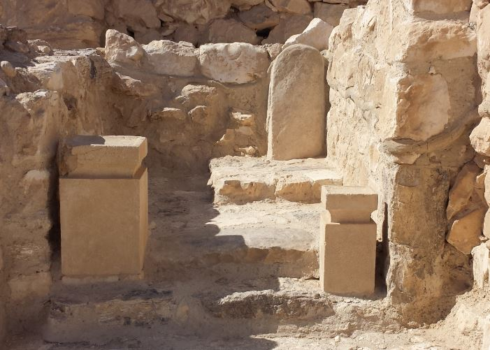 The 'Holy of Holies' in Tel Arad